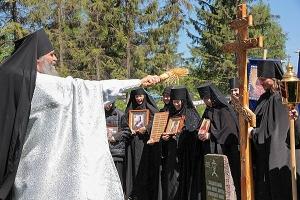 В Орловской области открыта  Корсунская Князь-Владимирская мужская пустынь
