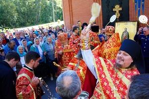 Архиерейское служение в день памяти священномученика Кукши, просветителя Орловск