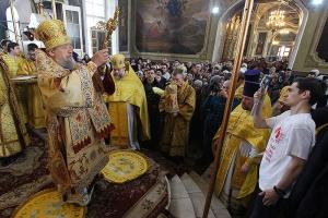 «Я очень счастлив, что был среди вас» — Высокопреосвященнейший митрополит Антоний поблагодарил и напутствовал орловскую паству