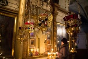 Архиерейское служение в Христорождественском храме Болхова. Фоторепортаж