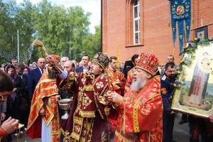 Архиерейское богослужение в день памяти священномученика Кукши. Фоторепортаж