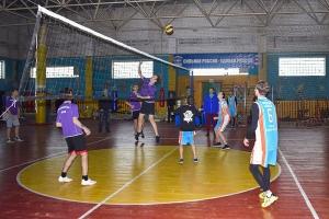 Рождественский турнир по волейболу на кубок благочинного прошел в Знаменском
