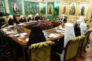 Первое в 2020 году заседание Священного Синода состоялось в Москве