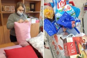 Добрый январь: прихожане Свято-Троицкого храма помогают нуждающимся