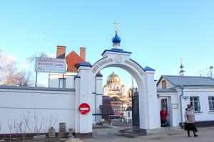 Архипастырь совершил заупокойное богослужение в канун субботы четвертой седмицы Великого поста