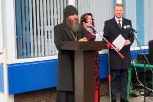 Мценское духовенство приняло участие в открытии библиотеки нового поколения