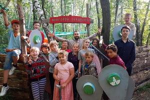 Под Мценском завершил работу палаточный слет «Владимирская Русь»