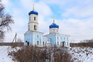 Покровский храм с. Спасское