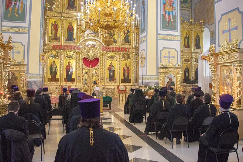Состоялось годовое собрание Орловской епархии